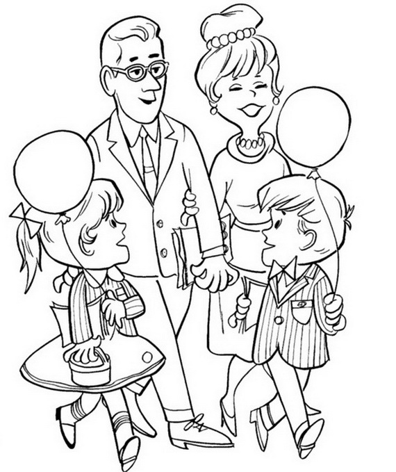 Mother's Day Coloring Pages also Grandparents Day Coloring Pages ...