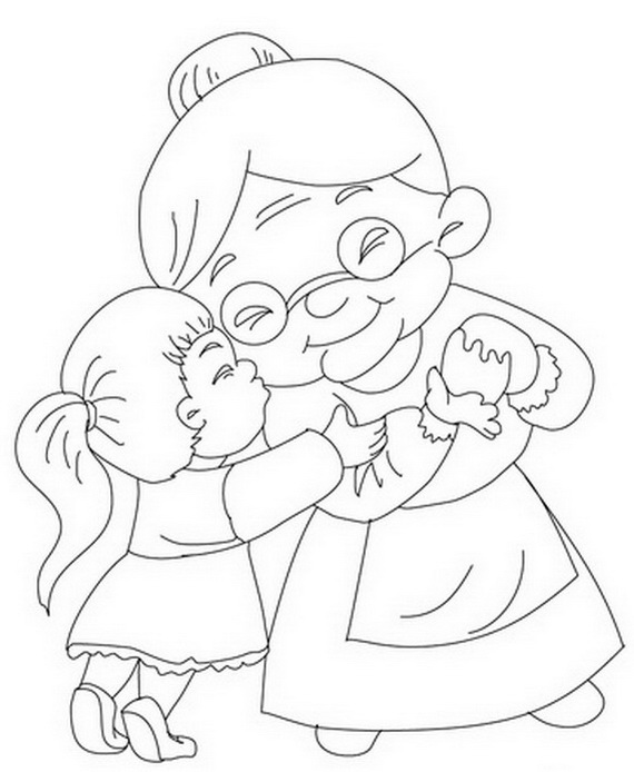 Grandparents Day Coloring Pages Activities For Kids Coloring Pages For Grandparents Day