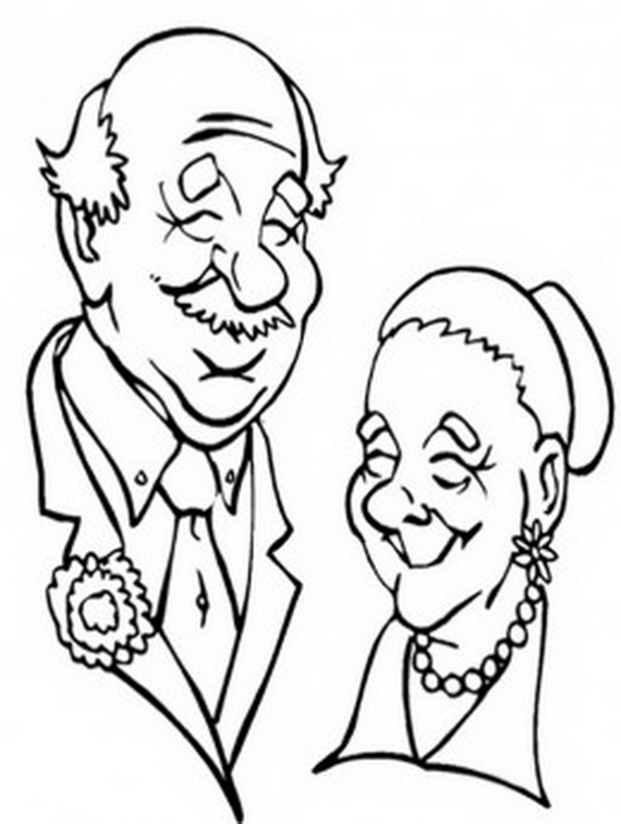 Grandparents Day Coloring Pages Activities For Kids