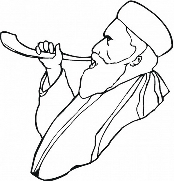 Coloring Pages For Yom Kippur : Great high holy days yom kippur coloring pages for kids