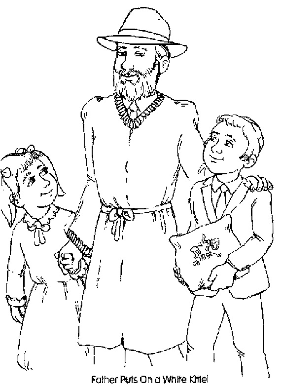 Coloring Pages For Yom Kippur : High holidays yom kippur coloring pages for kids family