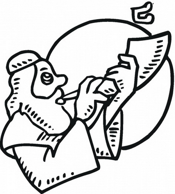Coloring Pages For Yom Kippur : Rosh hashanah coloring pages printable for kids family