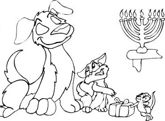 Rosh Hashanah Coloring Pages for Kids family holidaynetguide to