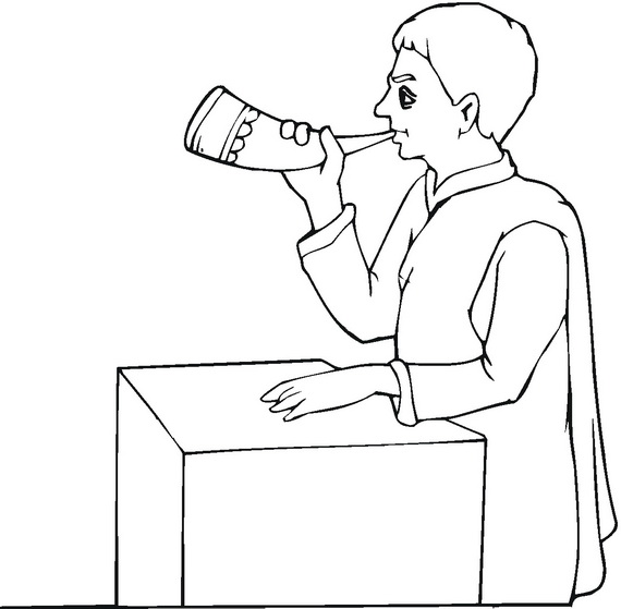 Rosh Hashanah Coloring Pages For Kids Family Holiday Net Rosh Hashanah Colouring Pages