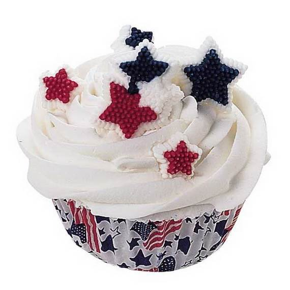 Unusually Delicious Labor Day Cupcake Decorating Ideas (10)