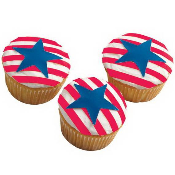 Unusually Delicious Labor Day Cupcake Decorating Ideas (3)