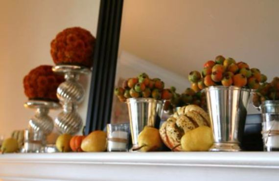 50 Great Halloween Fireplace Mantel Decorating Ideas (1)
