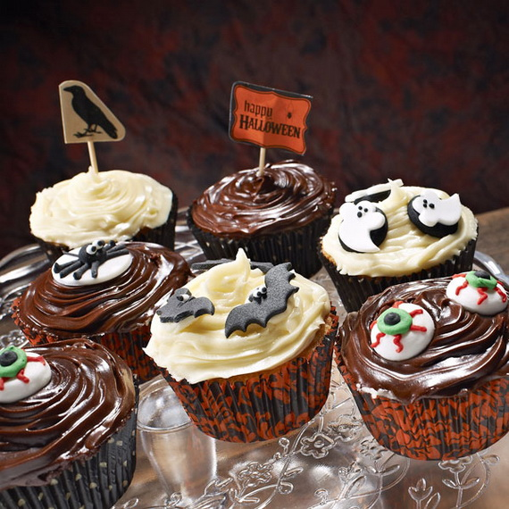 Best creative decorating ideas for halloween cupcakes Halloween cupcakes