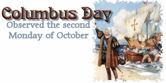 Christopher Columbus Day Cards