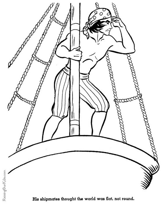 columbus day coloring pages for kids family holiday net guide to