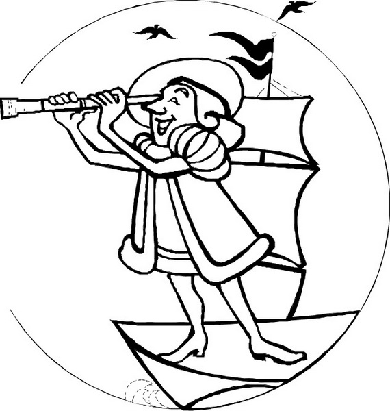coloring pages of christopher columbus - free coloring pages of christopher columbus printable