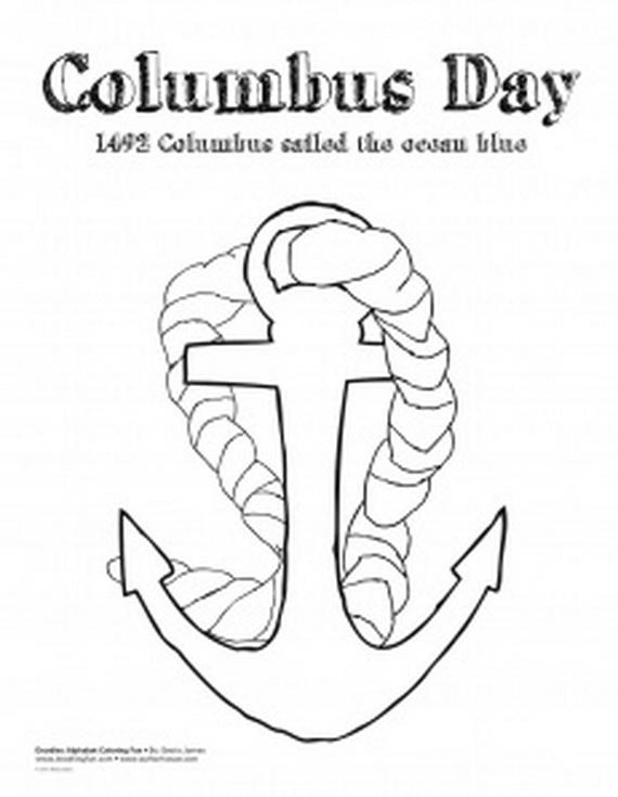 columbus day coloring sheets - Timiz.conceptzmusic.co