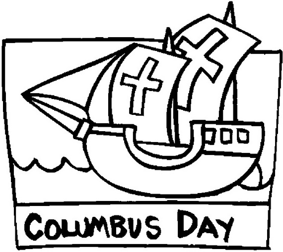 columbus day ships coloring pages family holiday net guide to