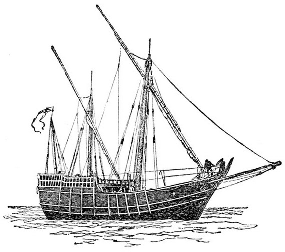 columbus ships coloring pages - photo #36