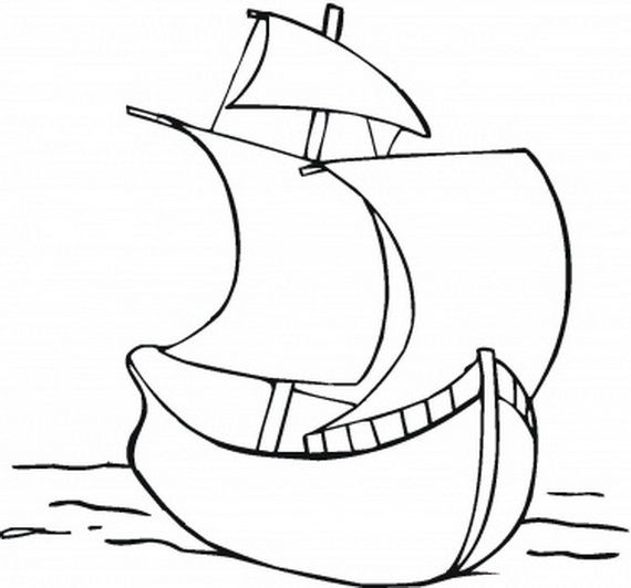 columbus ships coloring pages - photo #30