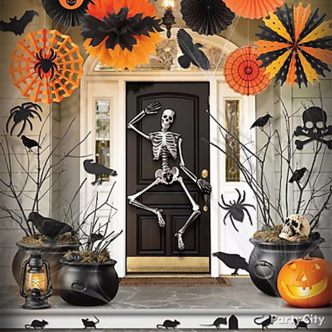 50 cool outdoor halloween decorations 2012 ideas family - Decoration maison halloween ...