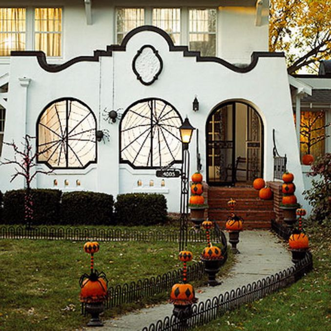 50 Cool Outdoor Halloween Decorations 2012 Ideas - Family Holiday