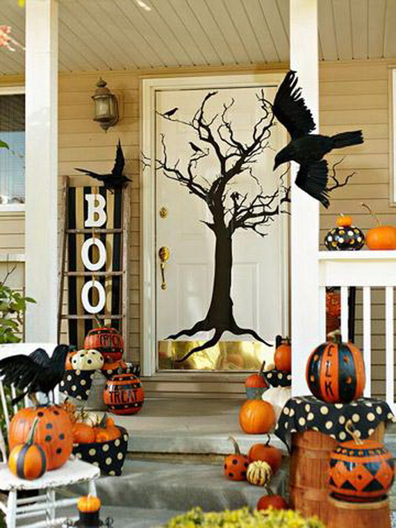 50 cool outdoor halloween decorations 2012 ideas family - Decoration halloween maison ...