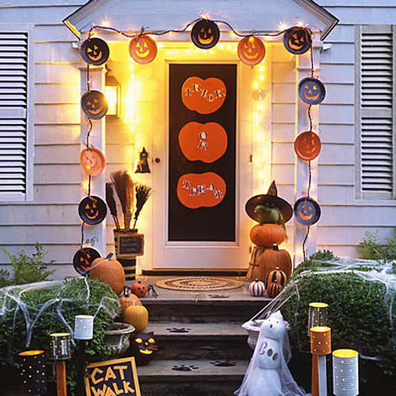 50 Cool Outdoor Halloween Decorations 2012 Ideas Family - Cool Outside Halloween Decorations