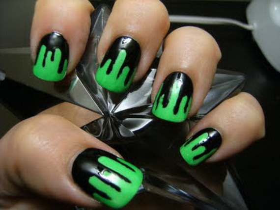 Related Posts. 35 Easy Creative Halloween Hairstyles · Elegant Halloween  nail art designs ... - Easy Halloween Nail Art Designs To Master - Family Holiday.net/guide