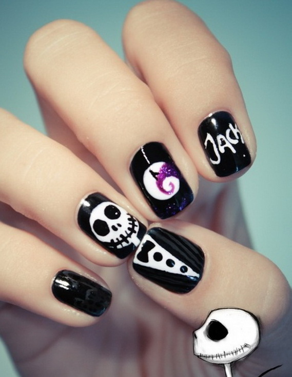 Easy Halloween Nail Art Designs To Master | Family Holiday
