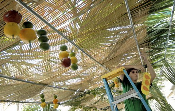 Easy and Inspiring Homemade Sukkah