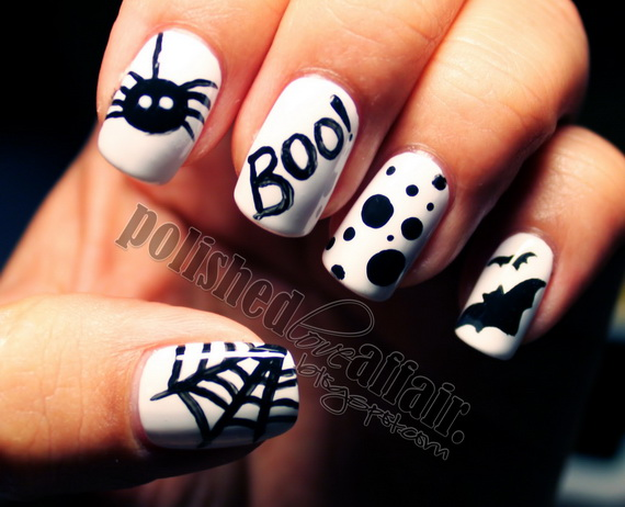 Elegant Halloween Nail Art Designs Family Holidayguide To