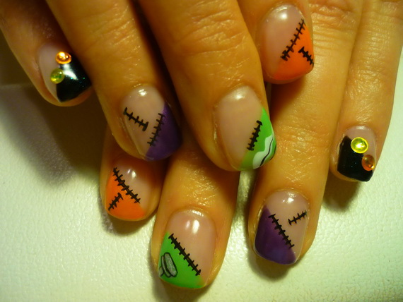 Elegant Halloween nail art designs   Guide to family holidays