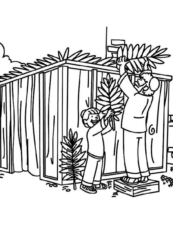 jewish coloring pages for kids - photo#20