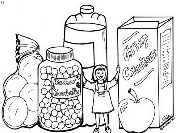 jewish coloring pages for kids - photo#34