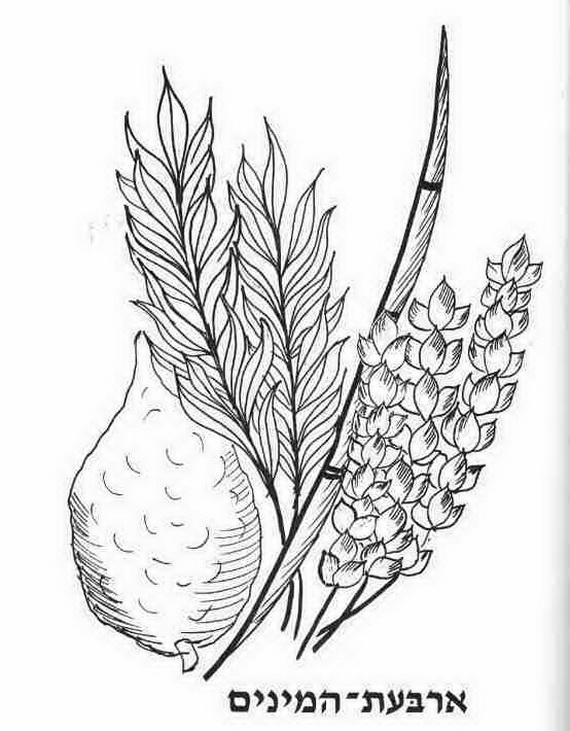 free jewish holiday coloring pages - photo#47