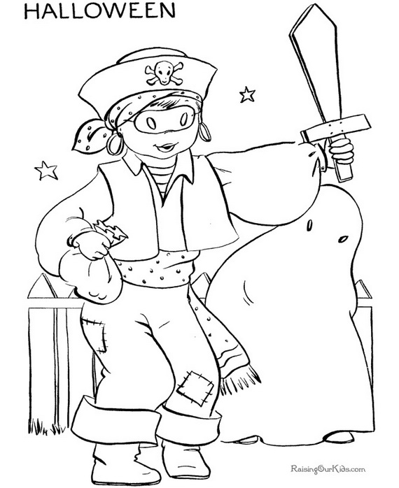 funny halloween coloring pages - photo#9