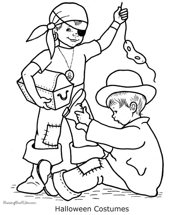 Related Posts Fun And Spooky Halloween Coloring Pages Costumes