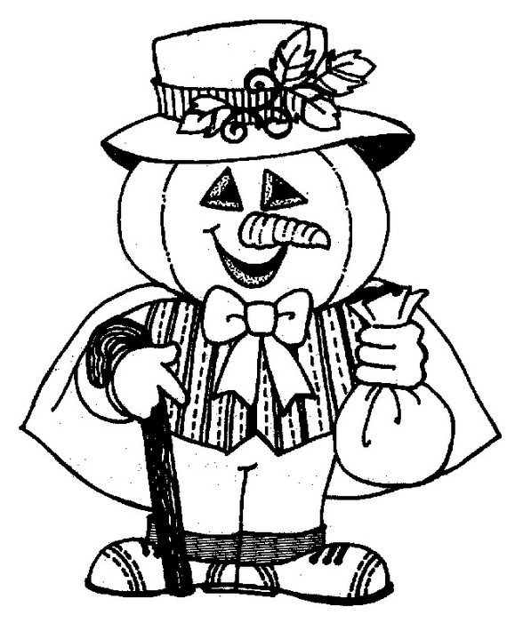 Fun Scary Halloween Coloring Pages Costumes 2012 - family ...