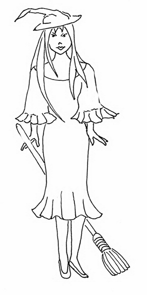 Fun And Spooky Halloween Coloring Pages Costumes Family Costumes Coloring Pages