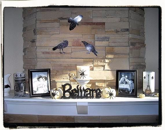 Fireplace Display Ideas 50 great halloween fireplace mantel decorating ideas - family
