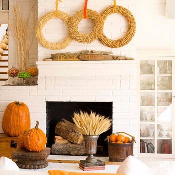 50 great halloween fireplace mantel decorating ideas family holiday