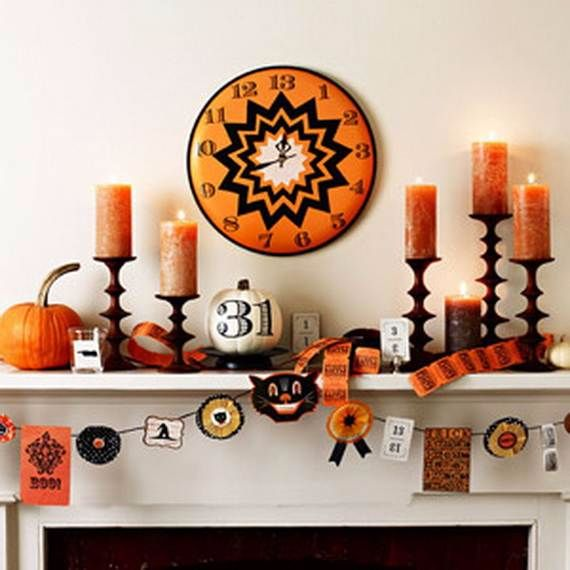 Fireplace Halloween Decorations: 50 Great Halloween Fireplace Mantel Decorating Ideas