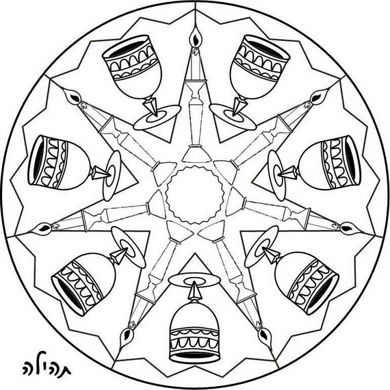 jewish coloring pages for kids - photo#32