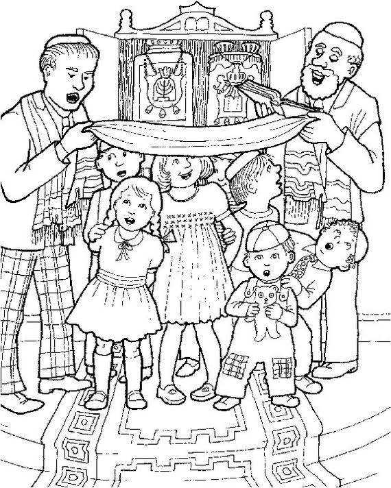 jewish coloring pages for kids - photo#28
