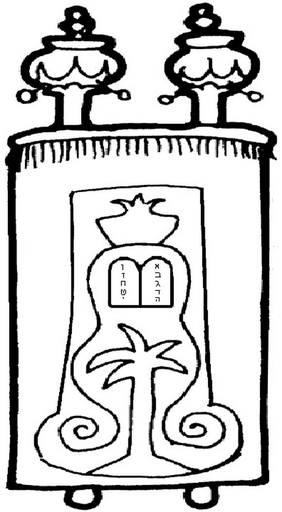 Torah Coloring Pages