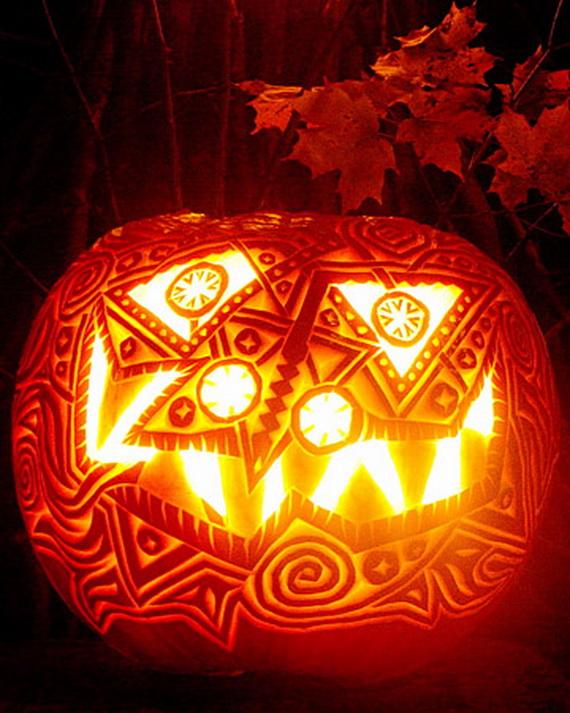 Pumpkin Jack O Lantern Carving Ideas Family