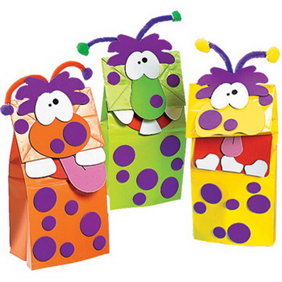 Halloween Bags 1000 ideas about halloween treat bags on pinterest halloween treats halloween and trick or treat Quick And Simple Kids Halloween Bags Craft