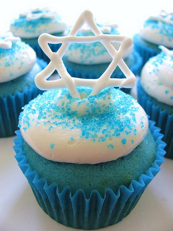 Cupcake Decorating Ideas Blue : Red White Blue Velvet Cupcakes for High Holidays (Yom ...