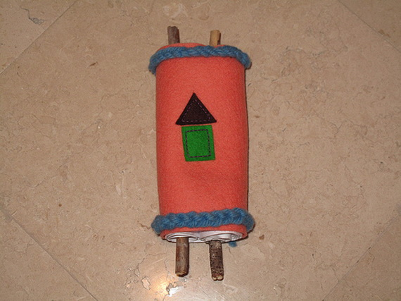 Simchat Torah craft Activities family holiday
