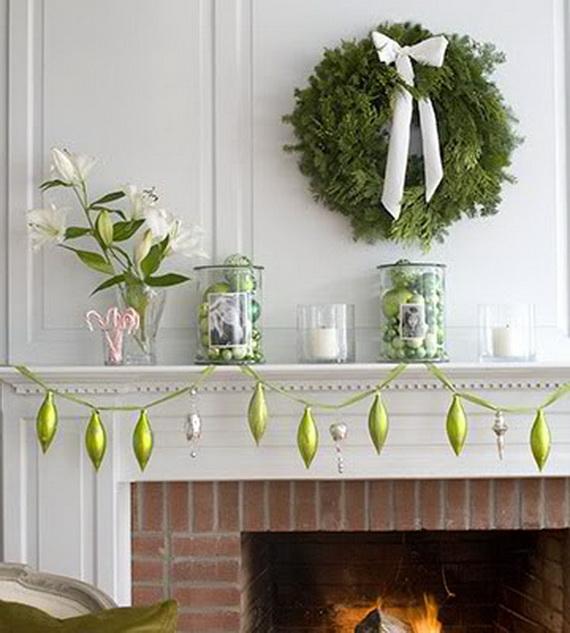 Simple Mantel Ideas: Simple Jewish Wreath Decoration Ideas
