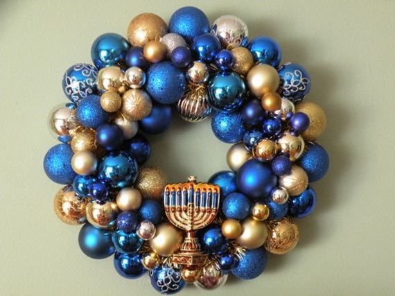 Simple Jewish Wreath Decoration Ideas