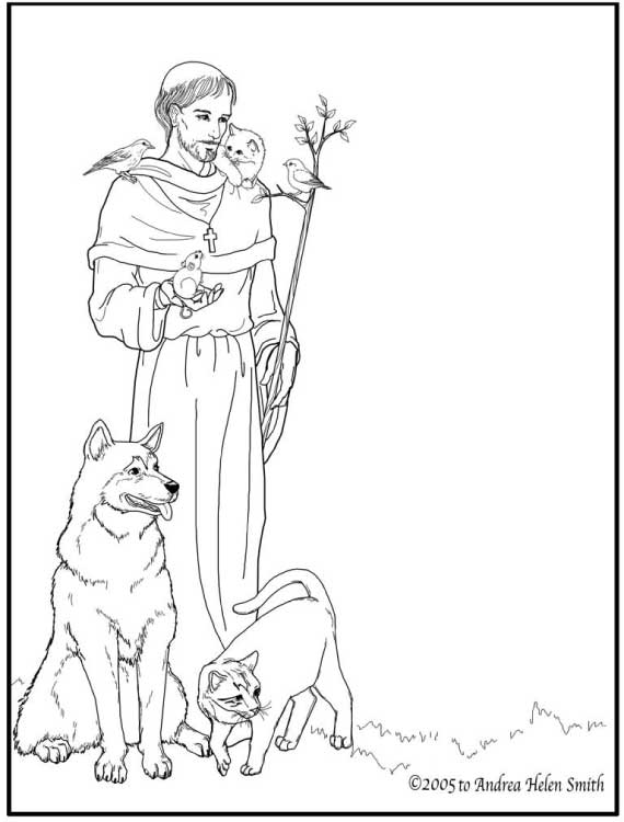 related posts catholic saints and all saints day coloring pages
