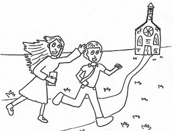 catholic all saints coloring pages - photo#20