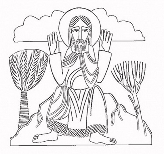 catholic all saints coloring pages - photo#9